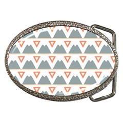 Triangles and other shapes           Belt Buckle
