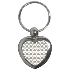 Triangles and other shapes           Key Chain (Heart)