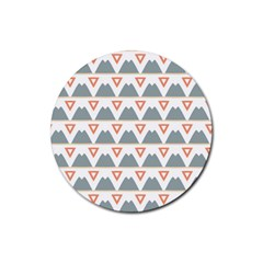 Triangles and other shapes           Rubber Coaster (Round)
