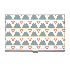 Triangles and other shapes           Business Card Holder