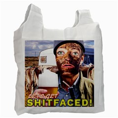 Lets Get Shitfaced! Recycle Bag (Two Side)