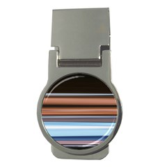 Color Screen Grinding Money Clips (Round)