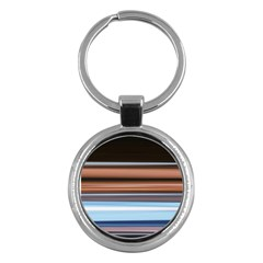 Color Screen Grinding Key Chains (round)