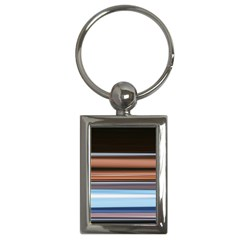 Color Screen Grinding Key Chains (rectangle)