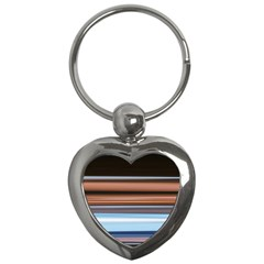 Color Screen Grinding Key Chains (heart)