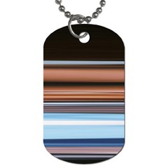 Color Screen Grinding Dog Tag (Two Sides)