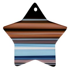 Color Screen Grinding Star Ornament (Two Sides)