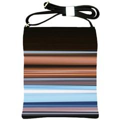 Color Screen Grinding Shoulder Sling Bags