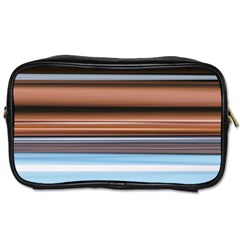 Color Screen Grinding Toiletries Bags 2-Side