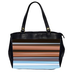 Color Screen Grinding Office Handbags (2 Sides)
