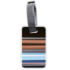 Color Screen Grinding Luggage Tags (Two Sides)
