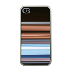 Color Screen Grinding Apple iPhone 4 Case (Clear)