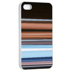 Color Screen Grinding Apple Iphone 4/4s Seamless Case (white)
