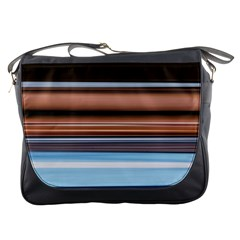 Color Screen Grinding Messenger Bags