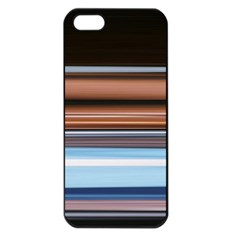 Color Screen Grinding Apple Iphone 5 Seamless Case (black)