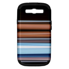 Color Screen Grinding Samsung Galaxy S Iii Hardshell Case (pc+silicone)
