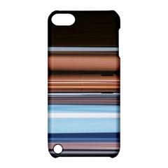 Color Screen Grinding Apple iPod Touch 5 Hardshell Case with Stand