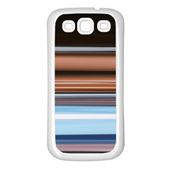 Color Screen Grinding Samsung Galaxy S3 Back Case (white)