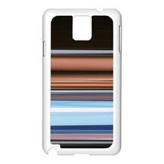 Color Screen Grinding Samsung Galaxy Note 3 N9005 Case (white)