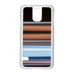 Color Screen Grinding Samsung Galaxy S5 Case (white)