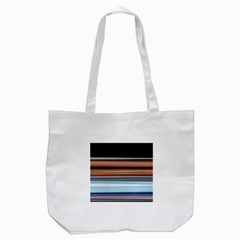 Color Screen Grinding Tote Bag (White)