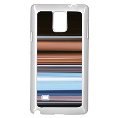 Color Screen Grinding Samsung Galaxy Note 4 Case (white)