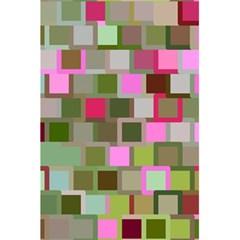 Color Square Tiles Random Effect 5.5  x 8.5  Notebooks