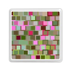 Color Square Tiles Random Effect Memory Card Reader (Square)