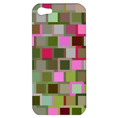 Color Square Tiles Random Effect Apple Iphone 5 Hardshell Case