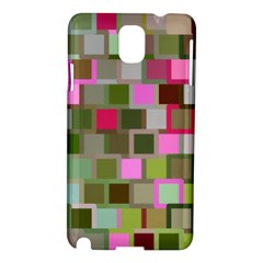 Color Square Tiles Random Effect Samsung Galaxy Note 3 N9005 Hardshell Case