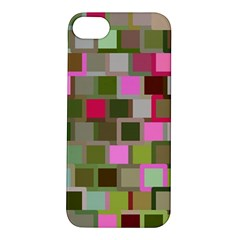 Color Square Tiles Random Effect Apple iPhone 5S/ SE Hardshell Case
