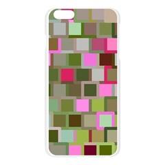 Color Square Tiles Random Effect Apple Seamless iPhone 6 Plus/6S Plus Case (Transparent)