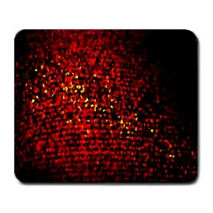 Red Particles Background Large Mousepads