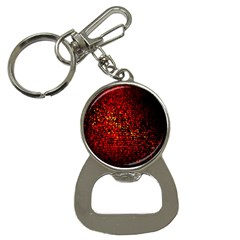 Red Particles Background Button Necklaces