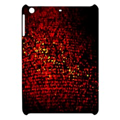 Red Particles Background Apple Ipad Mini Hardshell Case