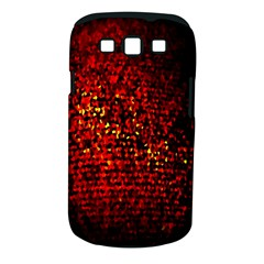 Red Particles Background Samsung Galaxy S Iii Classic Hardshell Case (pc+silicone)