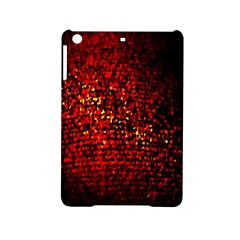 Red Particles Background Ipad Mini 2 Hardshell Cases