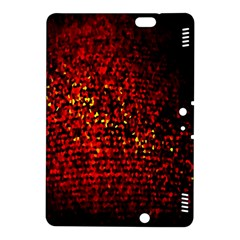 Red Particles Background Kindle Fire Hdx 8 9  Hardshell Case