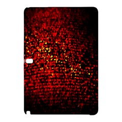 Red Particles Background Samsung Galaxy Tab Pro 12 2 Hardshell Case