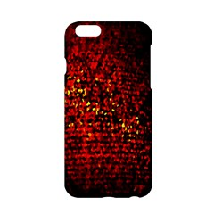 Red Particles Background Apple Iphone 6/6s Hardshell Case