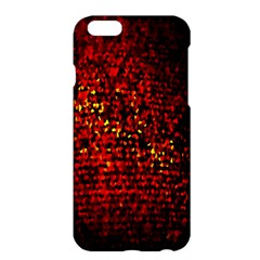Red Particles Background Apple Iphone 6 Plus/6s Plus Hardshell Case
