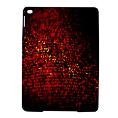 Red Particles Background Ipad Air 2 Hardshell Cases