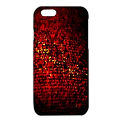 Red Particles Background iPhone 6/6S TPU Case