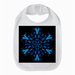 Blue Snowflake On Black Background Amazon Fire Phone