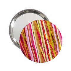 Color Ribbons Background Wallpaper 2 25  Handbag Mirrors
