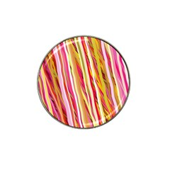 Color Ribbons Background Wallpaper Hat Clip Ball Marker (4 Pack)