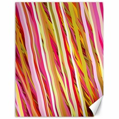 Color Ribbons Background Wallpaper Canvas 18  x 24