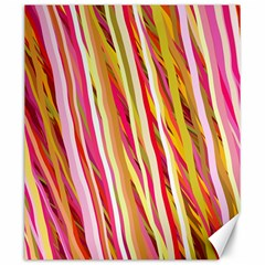 Color Ribbons Background Wallpaper Canvas 20  X 24