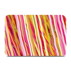 Color Ribbons Background Wallpaper Plate Mats