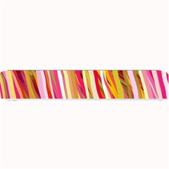 Color Ribbons Background Wallpaper Small Bar Mats